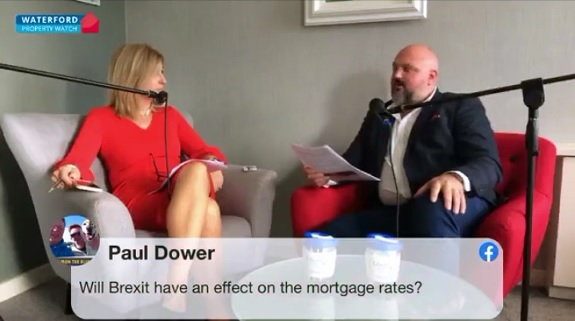 David Devine talks mortgage approval Waterford property watch