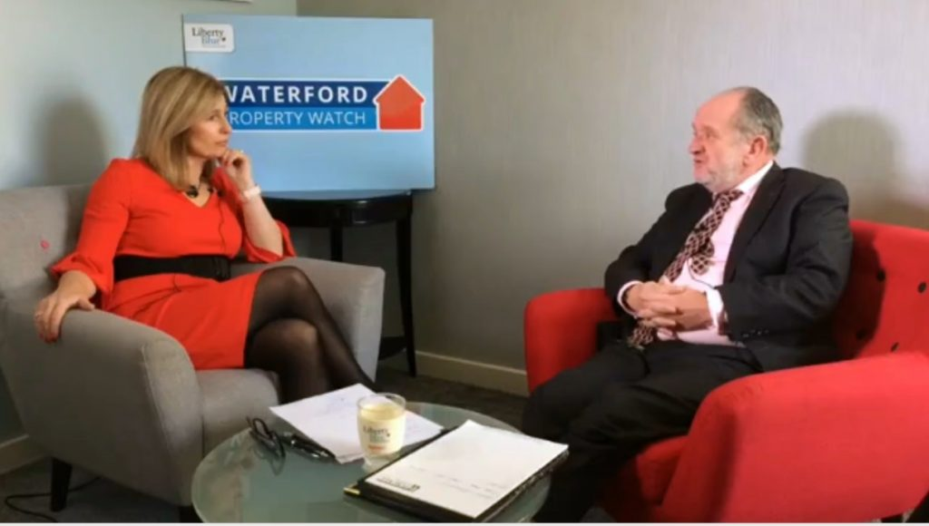 Waterford rental prices discussion with Des Purcell