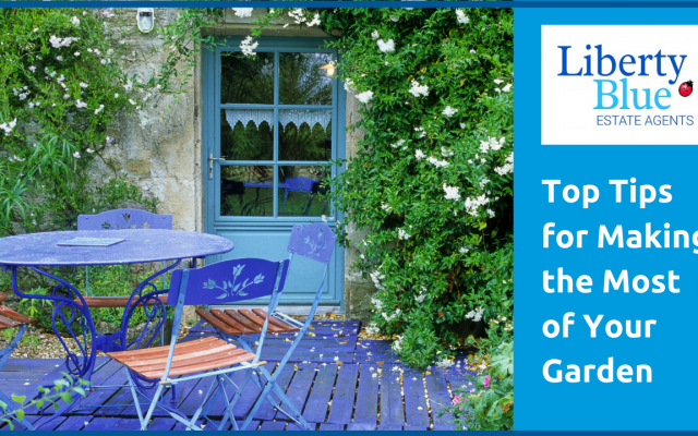 how to make the most of your outside space or garden liberty blue waterford